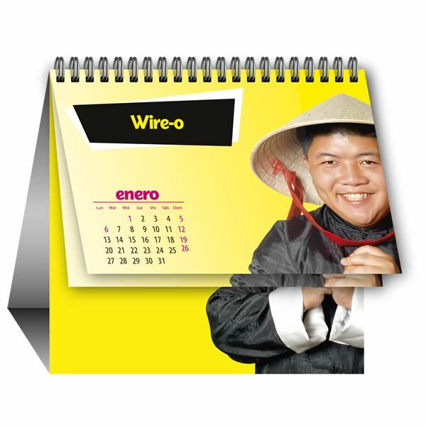 calendarios sobremesa personalizados baratos la imprenta china